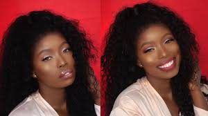 this makeup look for dark skin is so fab you ll want to try it