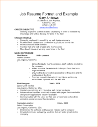 Free Basic Resume Template Sample Basic R Myenvoc