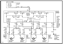 1997 chevrolet camaro electrical system wiring diagram 1997 chevrolet camaro wiring diagram