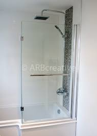 Shower screen from B&Q Shower and bath