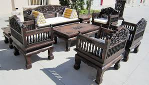 Real Wood Living Room Furniture TrellisChicago
