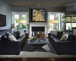 black leather sofa decor. Interesting Black How To Decorate Around The Black Leather Couch With Black Leather Sofa Decor