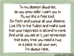 Beautiful Quotes For A Daughter Best Of I Love You Messages For Daughter Quotes WishesMessages