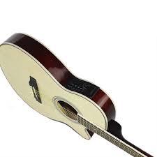Black Guitar 41 <b>inch</b> 2019 New Acoustic Folk Guitar Rosewood ...