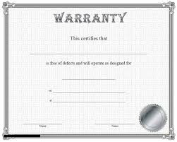 Warranty Cards Template Magdalene Project Org