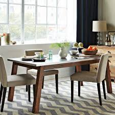 Mix + Match Table - Solid Wood Base /Stainless Steel Top - west elm