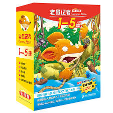 reading books children s literature fairy tale book bedtime story books best selling share mouse reporter global edition boxed full volume 1 5 6 7 8