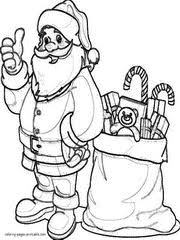 Small Picture Claus coloring pages for kids