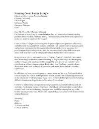 Graduate Cover Letter Examples New Graduate Nursing Cover Letter New