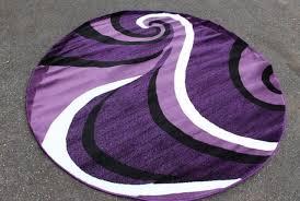 purple grey and black area rugs