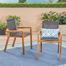 acanthe patio dining chair