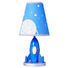 Lamps For Kids Bedroom Cal Lighting Bo 5644 Kids Novelty Lamp With Outer Space Blue