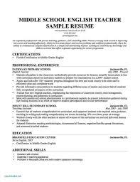 Teacher Resume Examples For Esl Teachers Cover Letter Sample