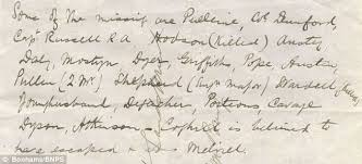 rare account of zulu battle written day after on paper from  the high price was expected because of how rare the letter is and not least