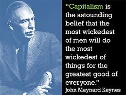 is capitalism really the best economic system  john nard keynes capitalism quote