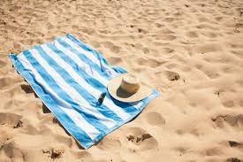 beach towels on sand. Beach Towels On Sand A