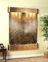 indoor wall water feature ideas homemade fountain waterfall diy homema water feature