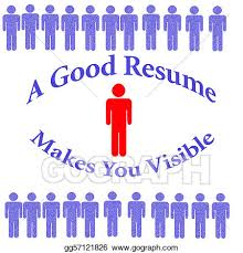 Resume Stock Illustrations Royalty Free Gograph