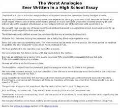 worst college essays college admissions officers what was the  worst college essays college admissions officers what was the worst essay you ever com