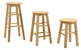 zapon wooden bar kitchen stool fixed height various sizes