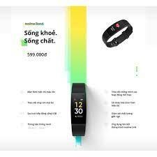 Vòng đeo tay thông minh Realme Band (Màu đen) - Chính hãng
