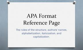 Apa Coverpage Format Apa Format Reference Page The Main Principles To Know