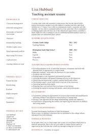 Preschool Teacher Assistant Job Description Resume Resume Examples