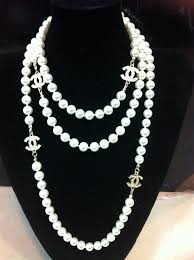 chanel pearl necklace. chanel pearls and chains - google search chanel pearl necklace r