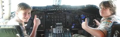 Boy Scouts - Hiller Aviation Museum