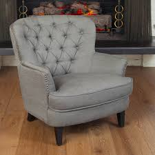 best ing home decor tafton grey linen club chair