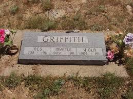 Ines Verna Griffith (1908 - 1911) - Genealogy