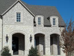 Light Grey Brick House