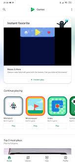 Google Play Design Home Update Live Apk Google Is Testing Reorganized Navigation