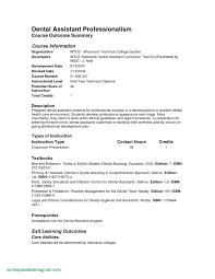 Medical Assistant Resume Resumes For Without Experience Lovely