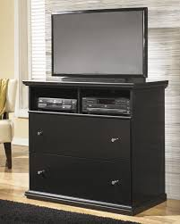 Media Chest Bedroom B138 Maribel Bedroom Set In Black By Signature Design By Ashley