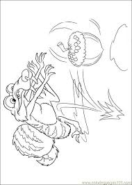 Small Picture Ice Age Continental Drift 03 Coloring Page Free Ice Age Coloring
