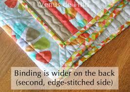 easy quilt binding method & binding-detail-02 Adamdwight.com