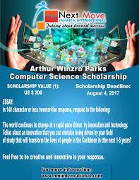 Arthur Winzro Parks Computer Science Scholarship