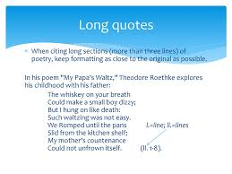 Citing Poetry In Mla Style Ppt Download