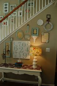 Stairs Wall Decoration Ideas 141 Best Photo Walls Images On Pinterest Wall Ideas Home And Frames