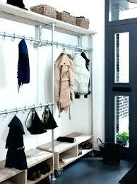 pipe garment rack pipe clothing rack wall mounted view in gallery pipe garment rack pipe clothing