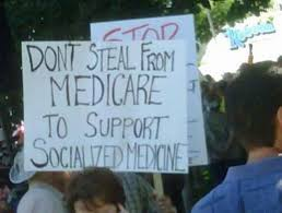 """THE ALTAR OF GOD: """"Keep Your Government Hands off my Medicare"""" and other  Logical Contradictions"""