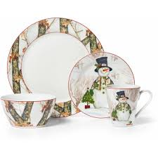 Camouflage Dishes Mossy Oak Break Up Infinity 16 Piece Dinnerware Set Holiday