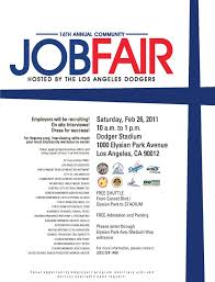 How To Prepare A Resume For A Job Fair