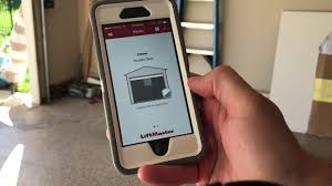 electric garage door lock. LiftMaster 8550W Wi-Fi Garage Door Opener And Automatic Lock Review Electric N