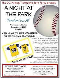 Innocents At Risk Baseball Game Flyer Indd