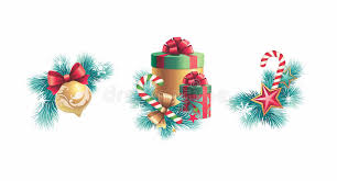 Christmas Decoration Design Christmas Decorations Design Set Stock Illustration Illustration 51