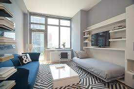 room interior design application. modern living room with built-in bookshelf, navy and white \u0027\u0026\u0027 pillow interior design application ,
