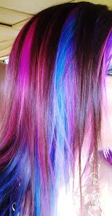 Hairstyles With Colored Ends