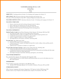 Objective For Teaching Resume 100 elementary teacher resume objective gcsemaths revision 100